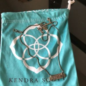 Kendra Scott Leanor Bar Necklace